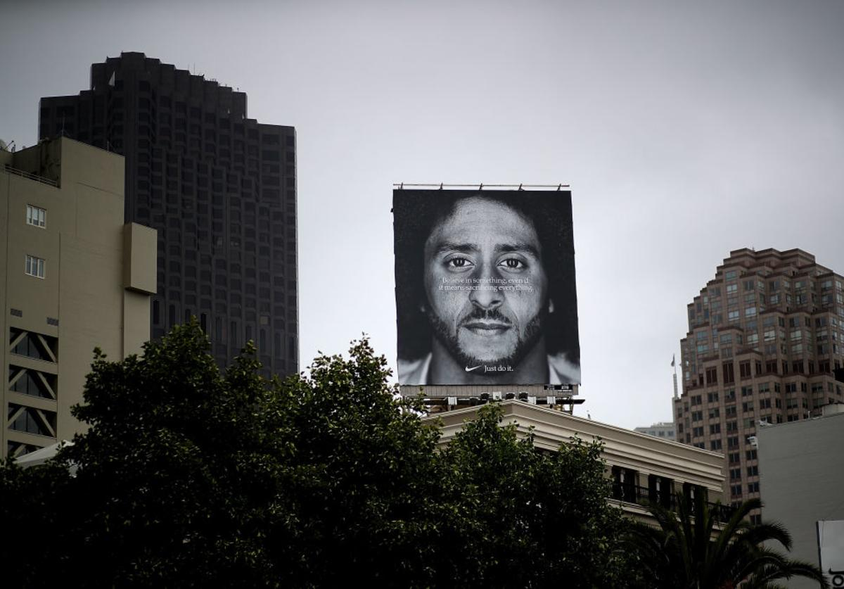Kaepernick billboard in San Fran