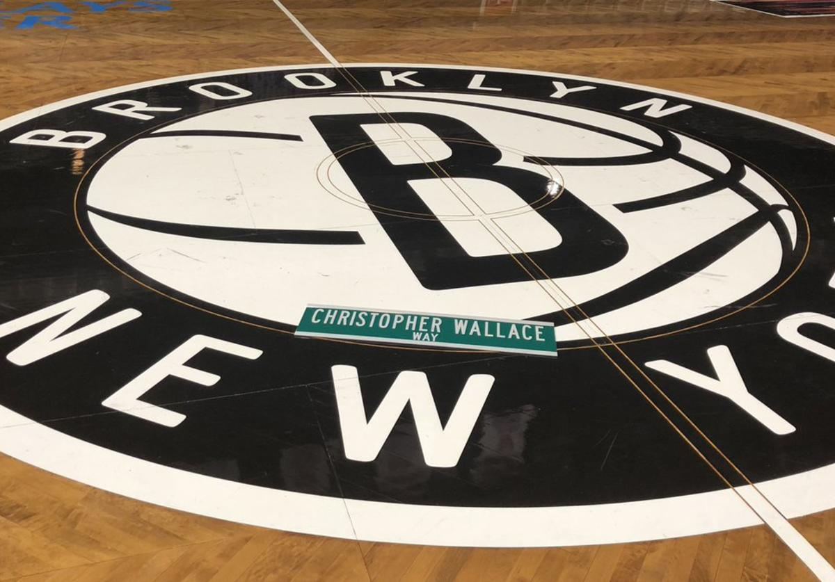 "Nets ""City Edition"" court"