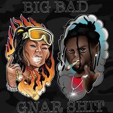 "Lil Gnar & Germ Drop ""Big Bad Gnar Shit"""