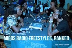 Migos Radio Freestyles, Ranked