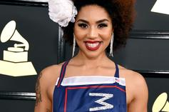Twitter Reacts To Joy Villa's Pro-Trump Grammys Dress