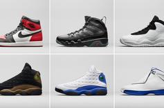 Jordan Brand Unveils Spring 2018 Collection