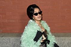 Cardi B Dodges Pregnancy Questions On Her Way To NBA All-Star Weekend