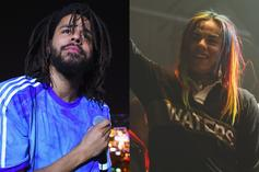 "J. Cole Says He Respects 6ix9ine's Willingness To ""Do Whatever, Say Whatever"""