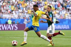 """Neymar Brags After Brazil Beats Mexico In World Cup: """"They Talked Too Much"""""""