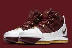 "Nike LeBron 3 ""Christ The King"" Rumored To Release This Week"