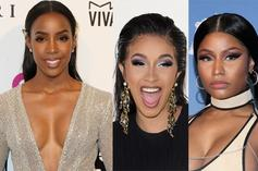 Kelly Rowland Comments On Witnessing Cardi B Fighting Her Friend Nicki Minaj