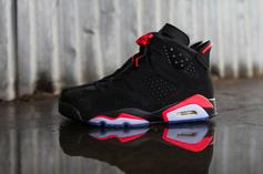 "Air Jordan 6 ""Black/Infrared"" Restock Announced For Today"