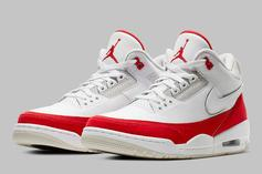 """Air Jordan 3 Tinker """"University Red"""" To Come With Interchangeable Logos"""