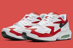 """Nike Air Max2 Light Coming In OG """"Habanero Red"""" Colorway"""