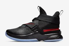 "Nike LeBron Soldier 12 ""Bred"" Dropped Today: Details"