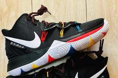 "Nike Kyrie 5 ""Friends"" Colorway Nods To The Classic TV Series"