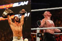 """Seth Rollins Says WWE Locker Room Is """"Done With"""" Brock Lesnar"""
