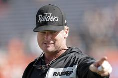 "Jon Gruden Told Raiders GM Not To ""Mess It Up"" At The Draft"