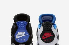 """""""What The"""" Air Jordan 4 To Include """"Military Blue"""" & """"Fire Red"""" Colorways"""