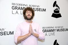 """Lil Dicky Previews """"Earth"""" On """"Ellen"""" With Justin Bieber, Ariana Grande, & More"""