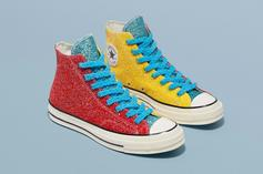 Converse Taps JW Anderson For Three Glittery Chuck 70 Colorways