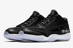 "Air Jordan 11 Low IE ""Space Jam"" Drops This Summer: New Images"
