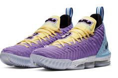 """Nike LeBron 16 """"Lakers"""" Coming Soon: Official Photos, Details"""