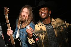 Lil Nas X Gifts Billy Ray Cyrus With A Maserati Through Postmates