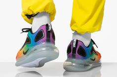 """Nike Air Max 720 """"Be True"""" Colorway Revealed: On-Foot Images"""