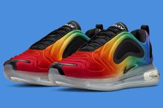 """Nike Air Max 720 """"Be True"""" Drops Just In Time For Pride Month: Details"""