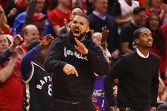 Drake's Courtside Antics Had The NBA Issuing Warnings To The Raptors