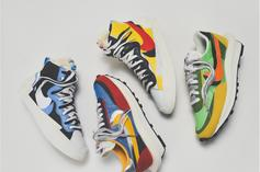 Sacai x Nike LDWaffle And Blazer Mid Releasing Today: Where To Cop