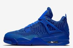 """Air Jordan 4 Flyknit """"Royal"""" Release Date Confirmed: Official Images"""