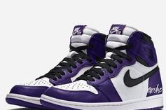 "Air Jordan 1 High OG ""Court Purple"" Expected For 2020: First Look"