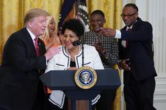 Alice Marie Johnson Praises Kim Kardashian & Says She'll Never Speak Negatively About Trump