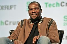 Kevin Durant's Brother Shows Off KD's Brooklyn Nets Jersey While Bumping Jay-Z