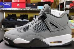 "Air Jordan 4 Retro ""Cool Grey"" Drops Next Month: Fresh Look"