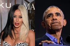 "Aubrey O'Day's ""Dream"" Sperm Donor Is Barack Obama"
