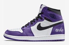 "Air Jordan 1 High OG ""Court Purple"" Rumored For Next Year: New Details"