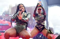"""Megan Thee Stallion Bombarded By Word """"B*tch"""" In Brittany Renner Interview"""