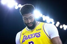 Lakers' Anthony Davis To Undergo MRI Following Preseason Injury