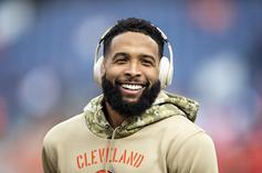 Odell Beckham Jr Appears To Get Angry At Baker Mayfield During Loss