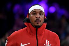 Carmelo Anthony Offers Spiritual Explanation For His New Number