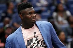 Zion Williamson Expected To Be Out Longer Than Initial Timeline: Report