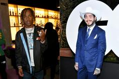 Rich The Kid Gives Off Batman Vibes In Photo With Post Malone
