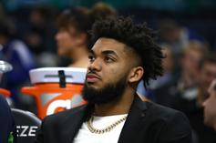 Karl-Anthony Towns Reportedly Upset In Minnesota, Warriors Interested