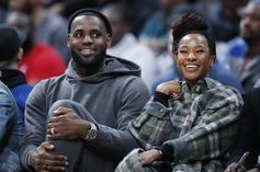 LeBron James' Wife Joins Him At The Strip Club For Birthday Party
