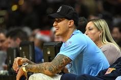 "Lakers' Kyle Kuzma Hears ""Slim Shady"" Taunts After Debuting Blond Look"