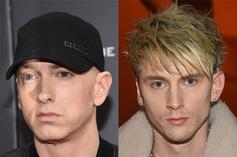 Machine Gun Kelly Doesn't Seem As Willing As Eminem To End Their Beef