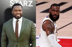50 Cent Celebrates LeBron James' Historic Moment, Imagines Himself As A Laker