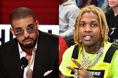 Drake Receives Icy OVO x OTF Chain From Lil Durk