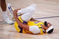 Anthony Davis Comments On Recent Ankle Injury