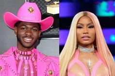"""Lil Nas X Is Nicki Minaj For Halloween In Jaw-Dropping """"Super Bass"""" Costume"""