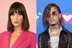 "Bella Hadid Dubs Lil Pump ""Irresponsible"" & A ""Loser"" For Endorsing Trump"